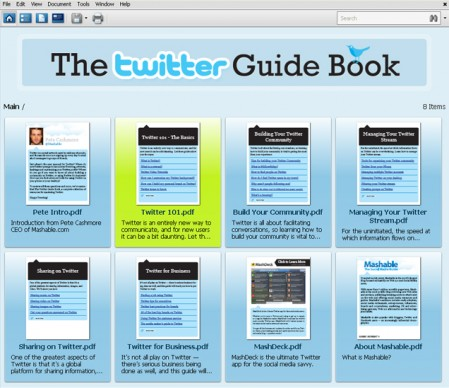 mashable twitter guide book