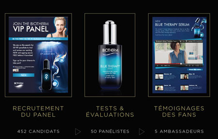 Facebook luxe : Biotherm