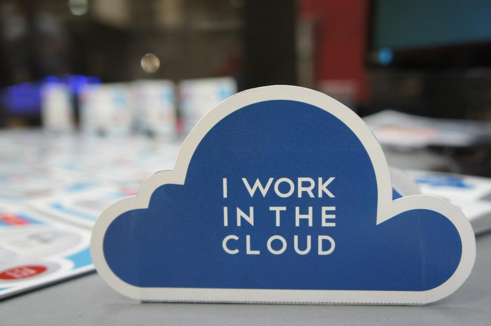 I work in the Cloud