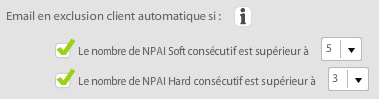 Gestion des NPAI - wewmanager