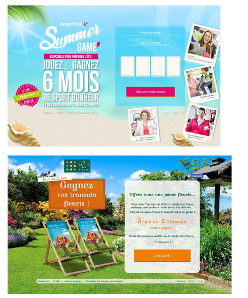 exemple concours collecte mail