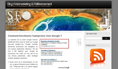 blog webmarketing referencement