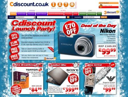 cdiscount version UK