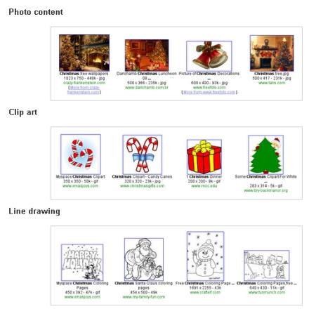 filtres google image