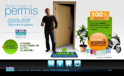 ASSU 2000 lance un concours via ses sites web et mobile