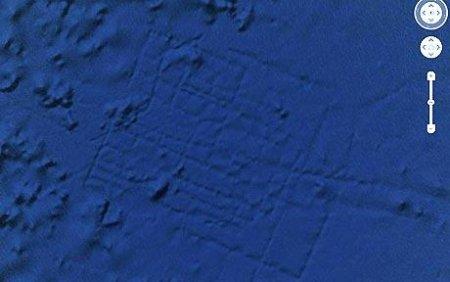 atlantide google Earth océan