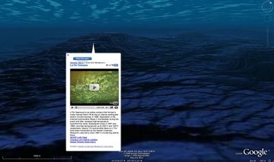 google earth oceans