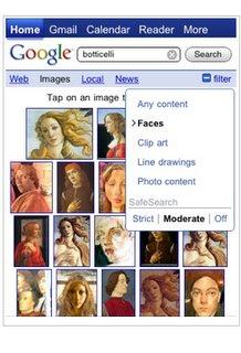 mobile google image search