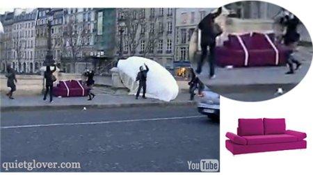 parachutage meubles conforama