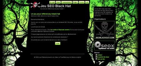 Jeu SEO Black Hat
