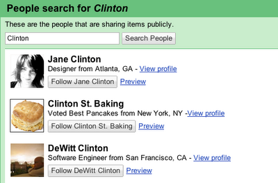 google reader partage