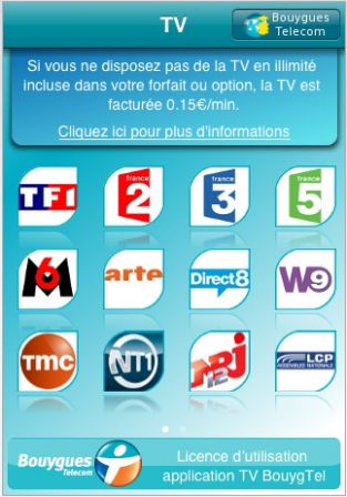 tv iphone bouygues telecom