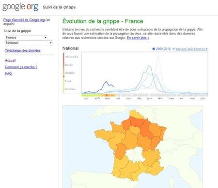 grippe h1n1 france