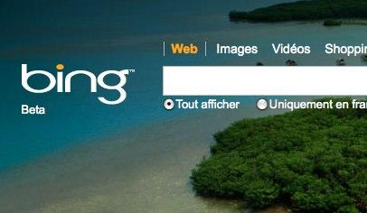 Quel est le nom du moteur de recherche de Microsoft ?