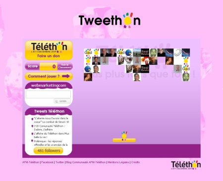 telethon twitter tweethon