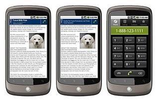 Google Adwords : publicité click to call via le réseau de contenu