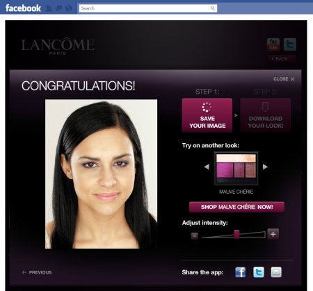 lancome application facebook eyeliner