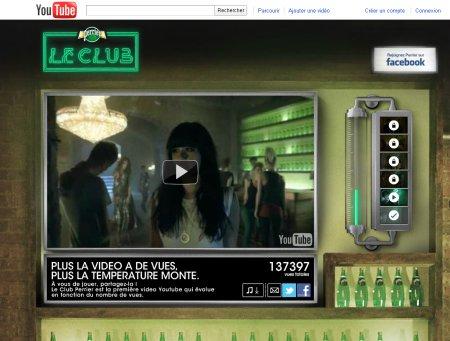 Perrier lance une campagne Youtube évolutive en fonction du nombre de vues