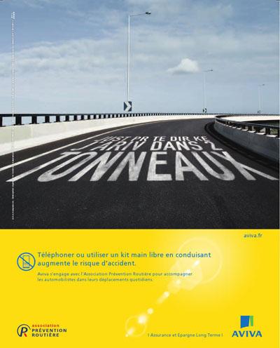 Aviva prévention routière