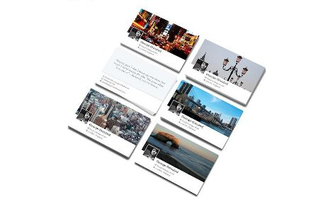 Une Carte De Visite Facebook Timeline A Vous Dit Partenariat Moo