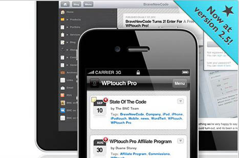 Lancer son blog Wordpress sur mobile grâce au plugin WPTouch