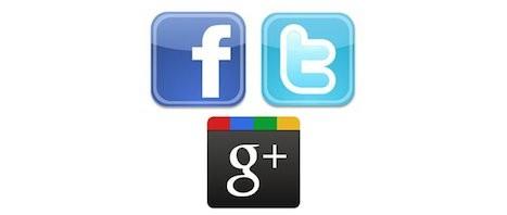Les comptes Facebook, Twitter et Google Plus qui buzzent en France [Mai 2012]