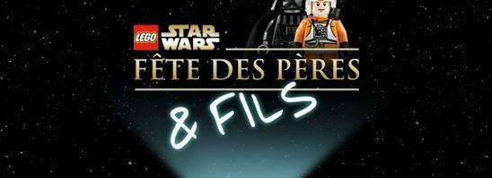 Dark Vador et Luke Skywalker se retrouvent pour la fête des pères