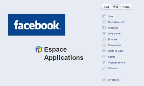 Facebook lance officiellement son appcenter