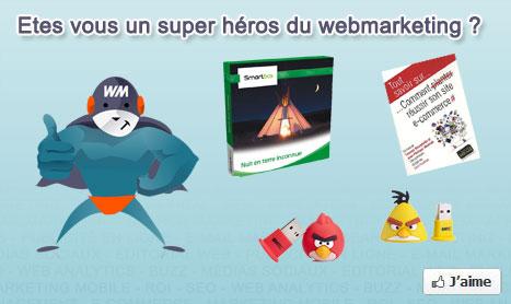 Etes vous un super héros du webmarketing ? Concours Webmarketing & co'm