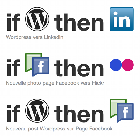 Exemple recettes ifttt