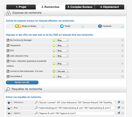 Radarly outil community management