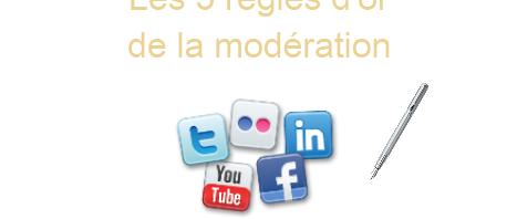 Les 5 règles d'or de la modération sur les réseaux sociaux