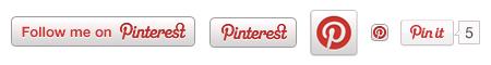 Pinterest boutons social