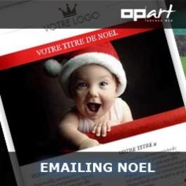 template email noel