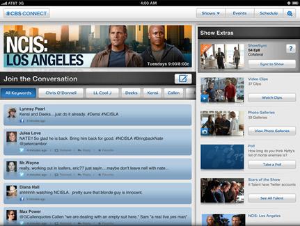 CBS social TV : le socionaute choisi la fin d'une série