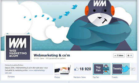 Facebook Webmarketing & co'm