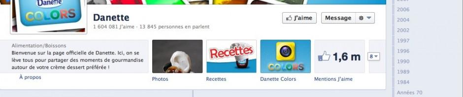 Facebook Danette