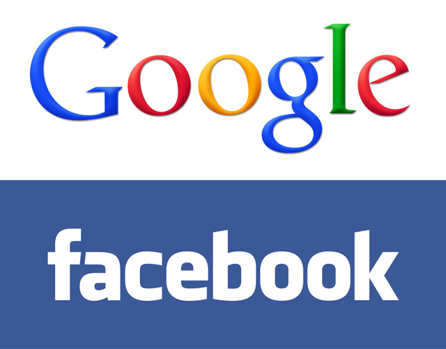 Business model facebook google