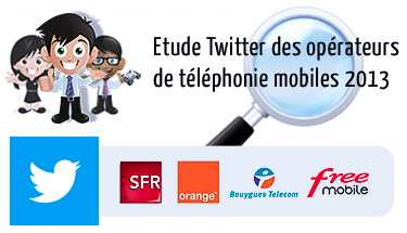 Etude Twitter opérateur mobile france 2013