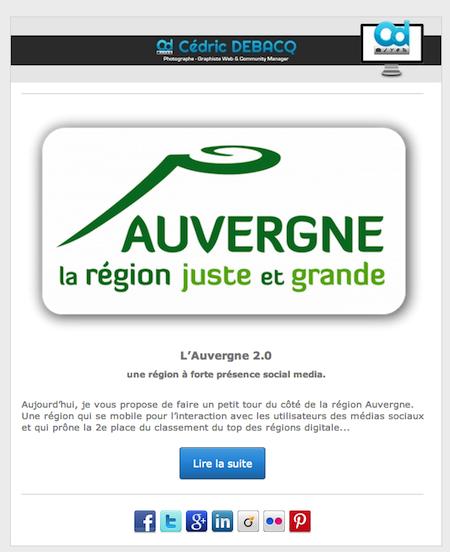 image marketing newsletter