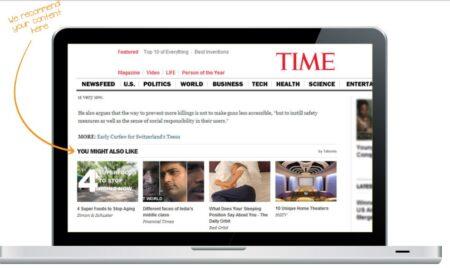 Beaucoup moins intrusif que les bannières publicitaires, la solution display de taboola pourrait bien aller jusqu'à concurrencer AdSense.