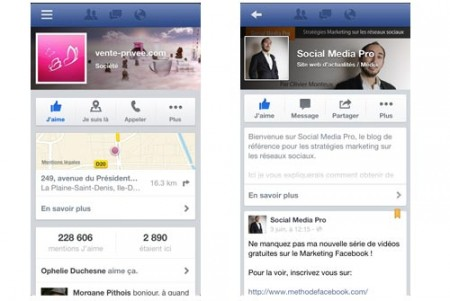 comment optimiser page facebook mobile 1