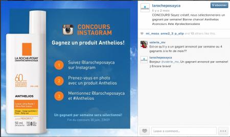 La Roche-Posay Instagram