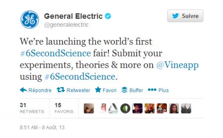 GE on Twitter