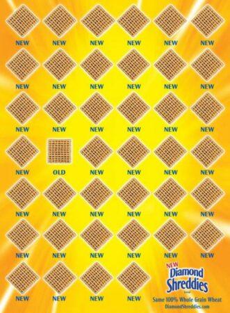 Diamond Shreddies, un tout nouveau produit... ou pas !