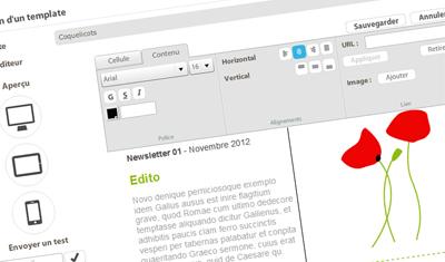 Editeur HTML WYSIWYG responsive  - responsivEditor - EmailStrategie