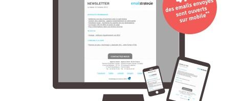 47% des emails envoyés ouverts sur mobile - Litmus Email Analytics