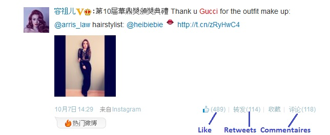 Gucci weibo