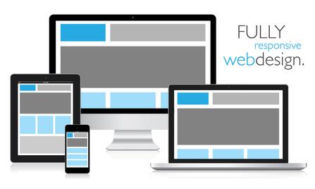 Site internet entreprise responsive design