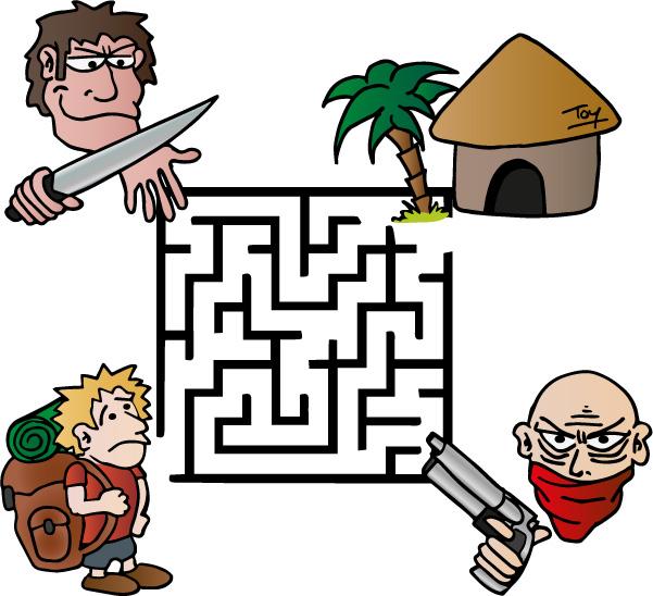 Labyrinthe du voyageur